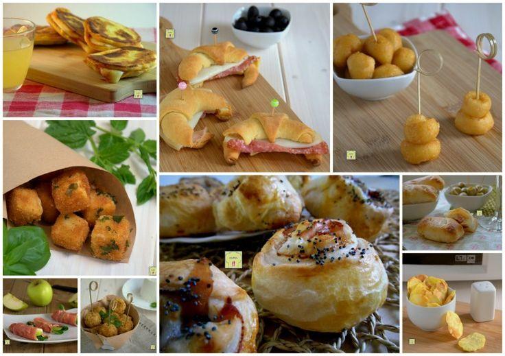 Finger food veloci per tutte le occasioni: raccolta di finger food perfetti per antipasti, aperitivi, buffet o cene informali.