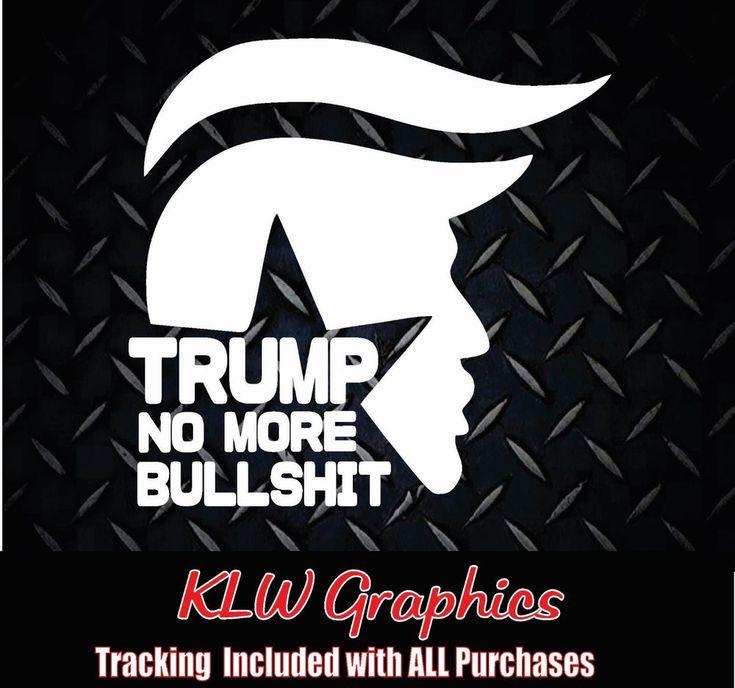 "DONALD TRUMP TRAIN"" 2016 Decal car Diesel Truck 1500 sticker president  GOP USA #lkl"