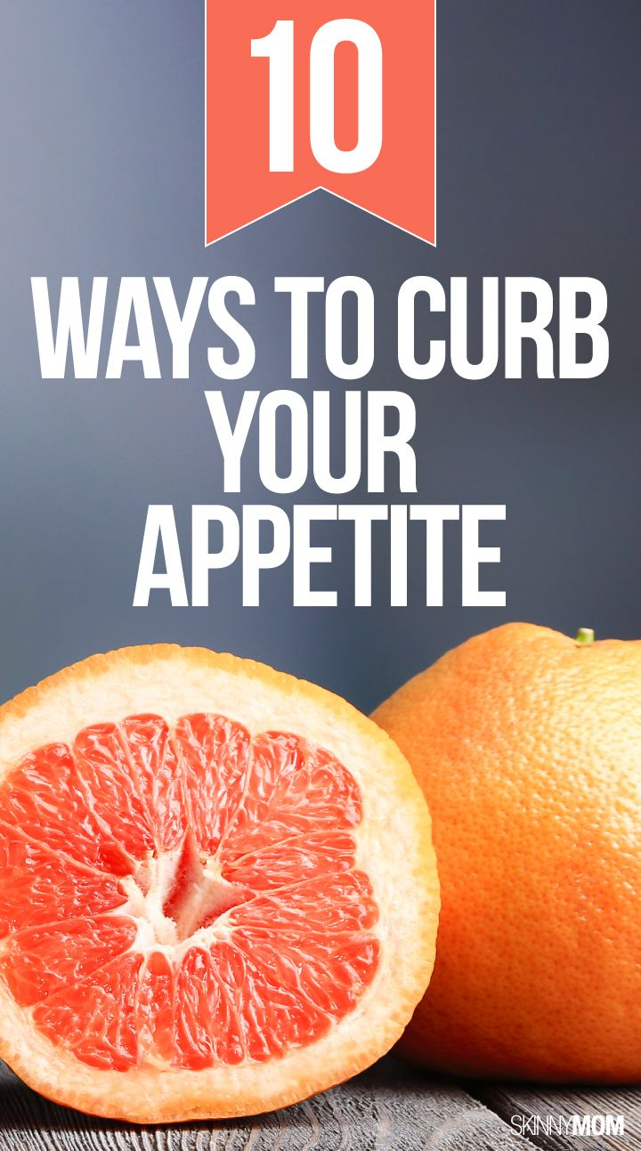 Halt hunger with these clever appetite suppressing tricks!