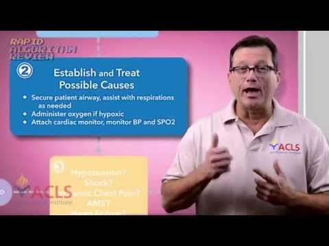 Rapid Algorithm Review Tachycardia