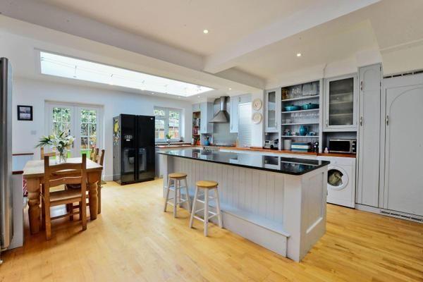 Blue #kitchen
