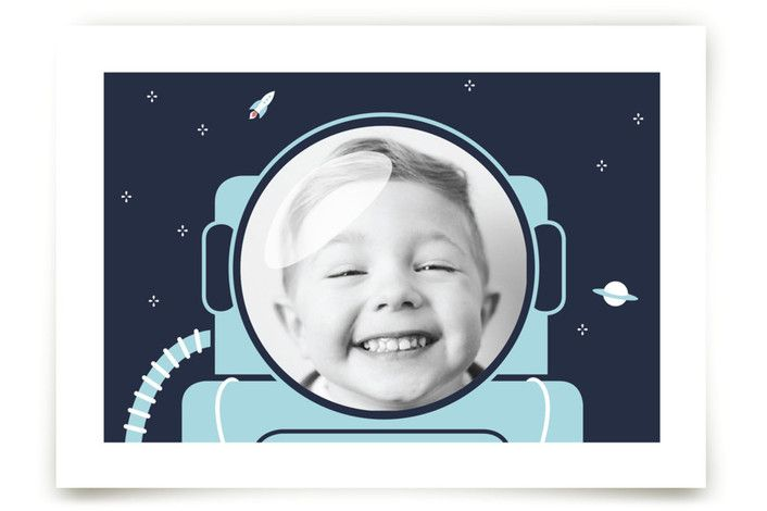 Our little astronaut (photo) by Seven Swans at minted.com