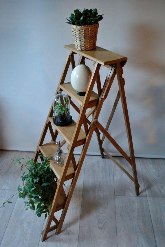 best 25 escabeau bois ideas on pinterest escabeau 3 marches porche ferm and d coration de. Black Bedroom Furniture Sets. Home Design Ideas