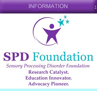 Wonderful website!!  Sensory Processing Disorder Foundation | Research, Education and Advocacy