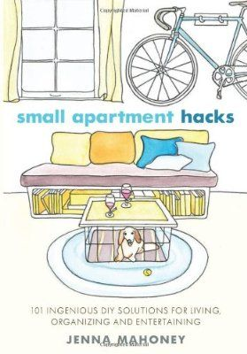 Small Apartment Hacks: 101 Ingenious DIY Solutions for Living, Organizing, and Entertaining:Amazon:Books