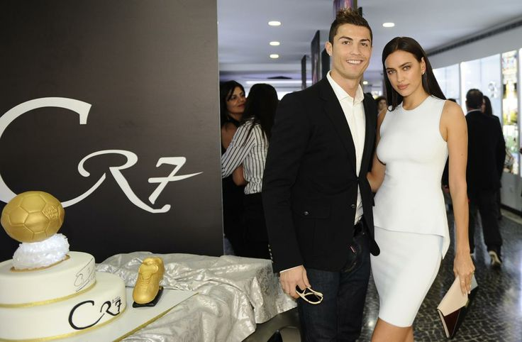 Irina Shayk and Christiano Ronaldo