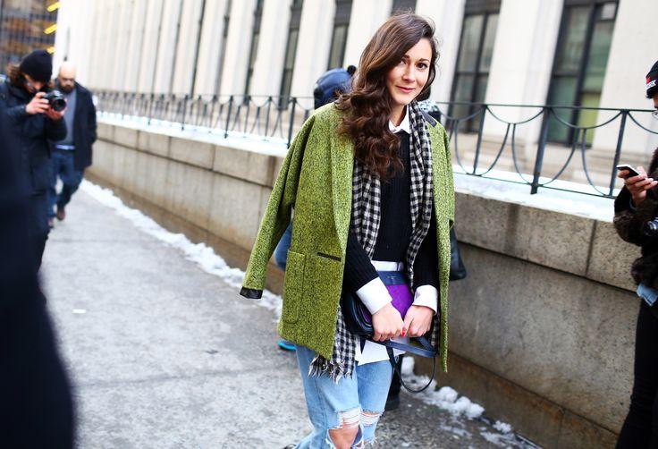 Photos: Street Style: New York Fashion Week Fall 2014 – Vogue