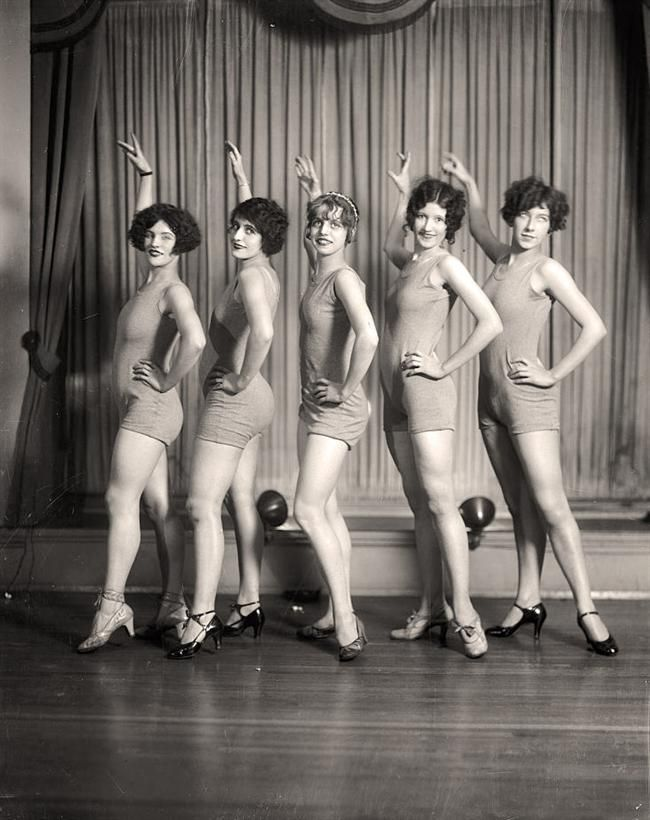 Women Dancers made between 1905 and 1945 by Harris & Ewing. The image presents Thayer Studio.
