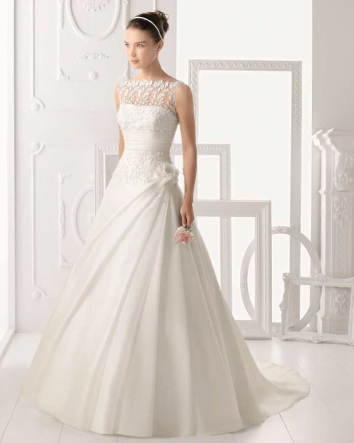 Decote canoa para o seu vestido de noiva! 6