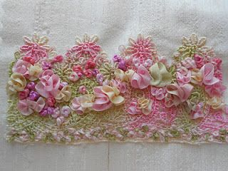 ribbon embroidery and crazy quilts