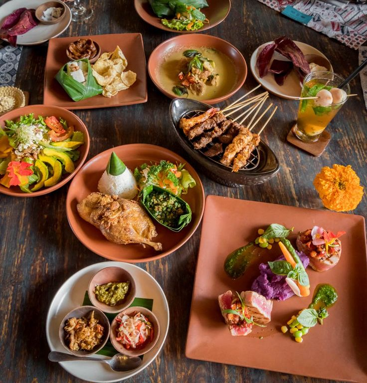 Balinese food spread for lunch, who want to join us?