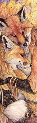 Autumn Love by Goldenwolf.deviantart.com