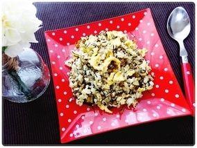 青空レストランで紹介のレシピ★辛子高菜チャーハンを作ってみました|レシピブログ