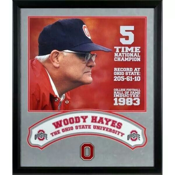Woody Hayes - Significant Sigma Chi Alumnus from Denison, 1935 - NCAA Football Coach, The Ohio State University, 1951 - 1978. College Football Hall of Fame