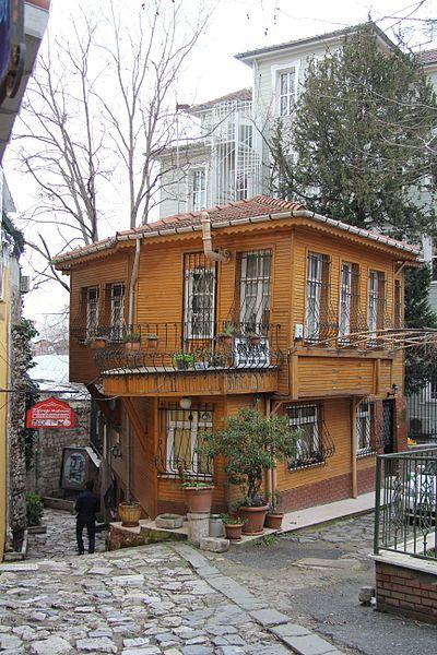 Istanbul houses. Turkey.