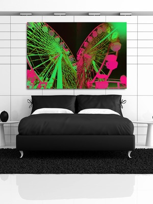 Double Ferris (Night) by Fluorescent Palace on Gilt Home