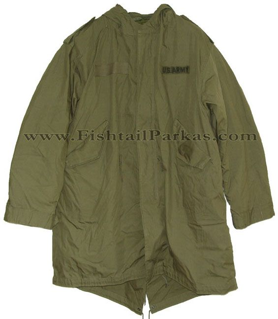 """The Classic M-1951 Fishtail Parka, A faithful remake of this classic parka from the worlds number one fishtailparkas.com and at only £187...it's """"the parka"""" for this year..."""
