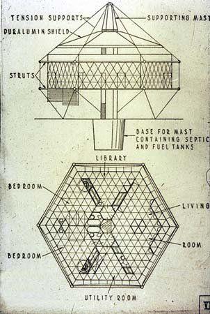 Buckminster Fuller - Dymaxion House