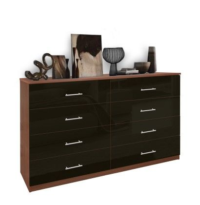 8 Drawer Double Dresser - Chest of Drawers  At the end of the bed or under the window