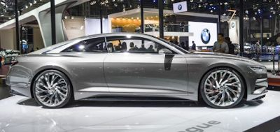 2018 Audi A8 Outside