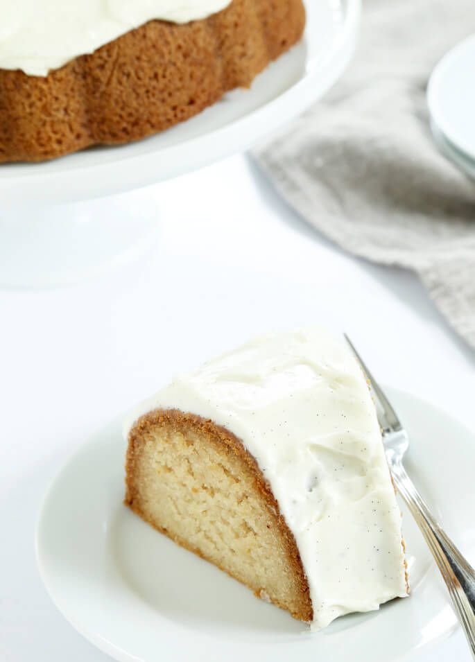 This gluten free vanilla crazy cake is made with no butter and no eggs, but it's still moist and tender and rises beautifully. What a crazy cake!
