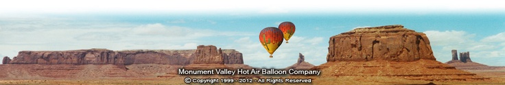 Monument Valley Hot Air Balloon Rides - The ultimate vacation balloon adventure.
