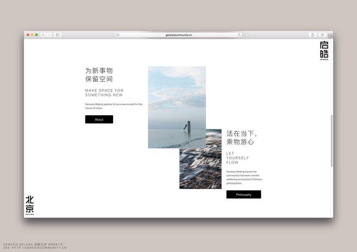 Genesis Beijing Branding Schemes | Pattern Branding Identity Inspiration | Award-winning Branding Schemes/Medium Organisation | D&AD