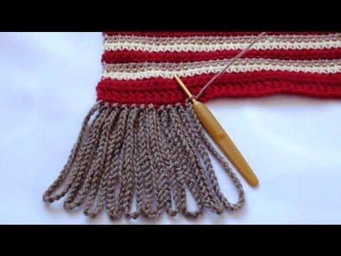 Crochet Chain Tassels by Crochet Hooks You ♡ Teresa Restegui http://www.pinterest.com/teretegui/ ♡
