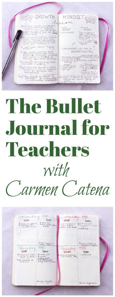 The Bullet Journal for Teachers With Carmen Catena