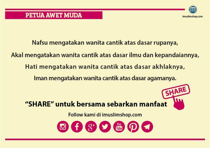 10 Petua Awet Muda #sebarkanmanfaat #Imuslimshop #PhotoViral #PetuaawetMuda