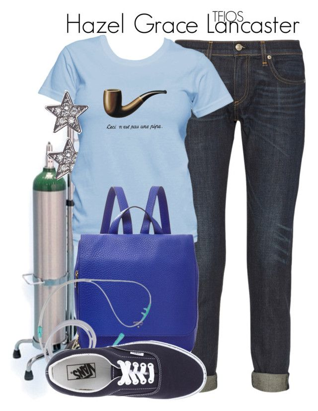 """""""Hazel Grace Lancaster // Bethany"""" by rosey-wolf-x ❤ liked on Polyvore featuring rag & bone, Lane Bryant, FOSSIL and Vans"""