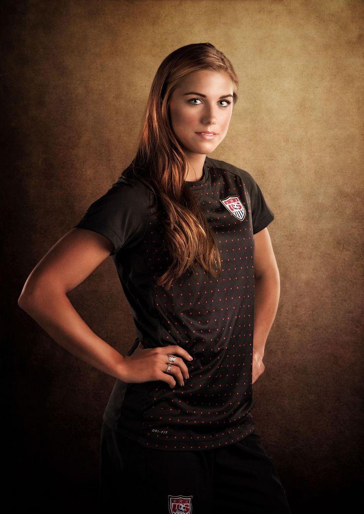 Women's soccer player Alex Morgan