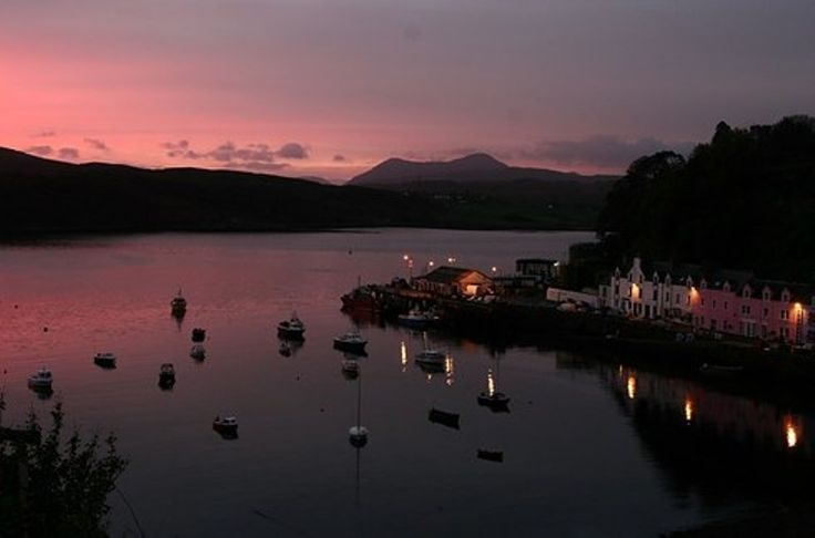 Portree, Isle of Skye, Scotland.  Photo by Creative Comons