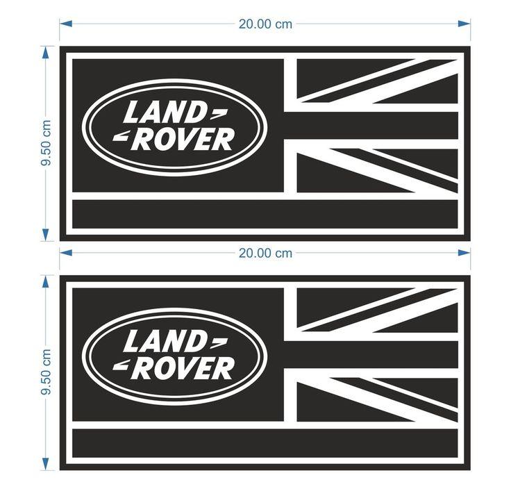 2X Land Rover Defender 90 110 130 Aftermarket Decal Wing Fender Sticker | eBay