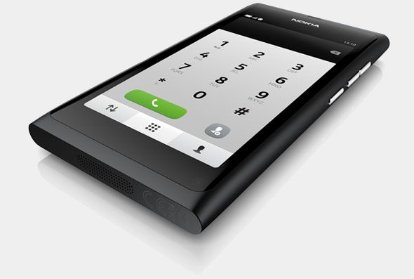 Nokia N9 Black. My new phone.