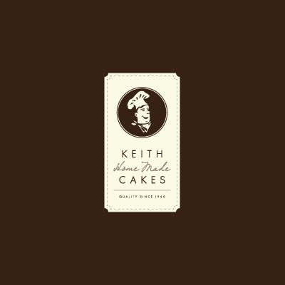 Keith Home Made Cakes | Logo Design Gallery Inspiration | LogoMix