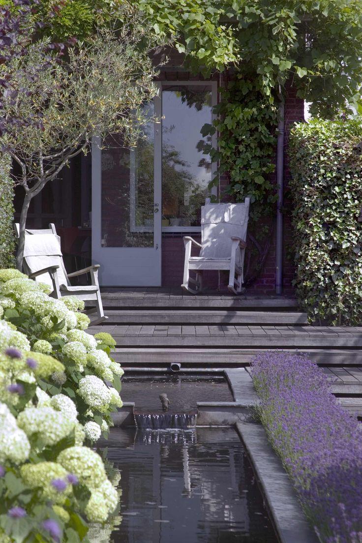 41 beste afbeeldingen van tuinen met vijvers kleine for Tuinarchitect kleine tuin