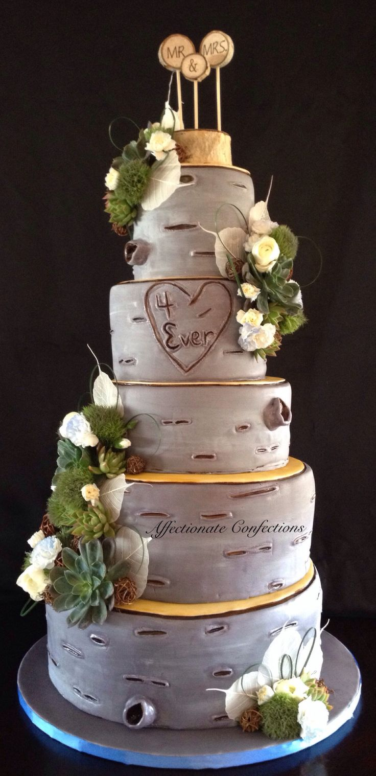 birch tree wedding cake images 14 best wedding cakes images on birch tree 11769