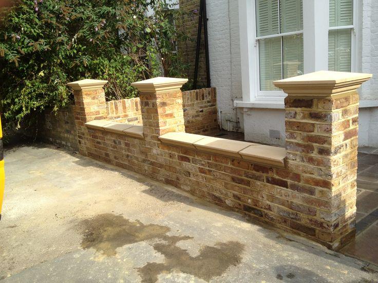 Front Garden Wall Designs - Google Search | Jardines | Pinterest