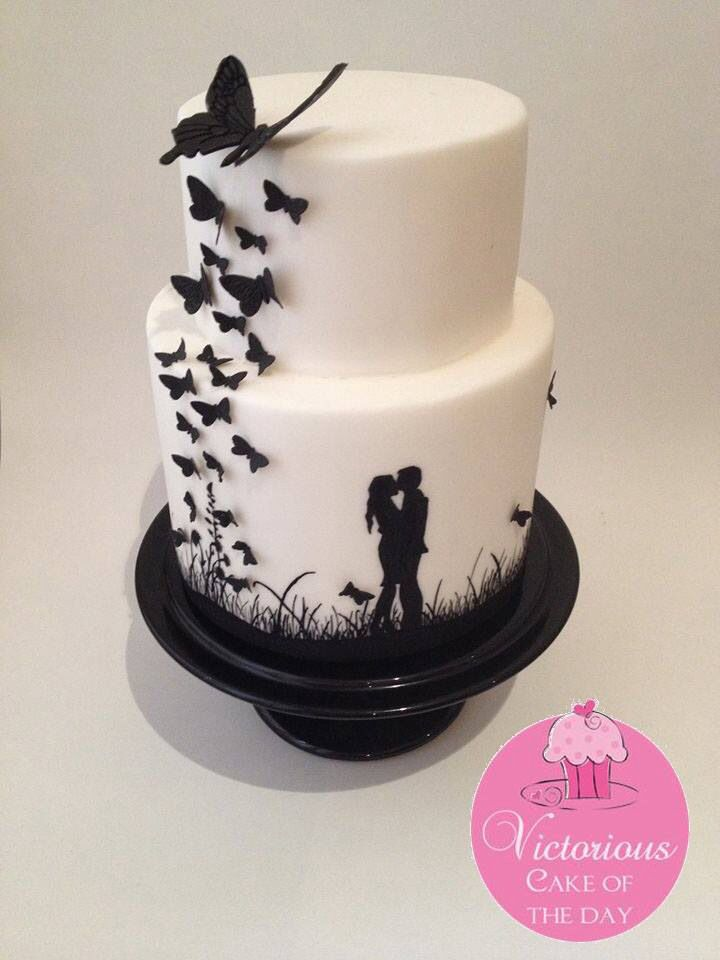 1000  ideas about Silhouette Cake on Pinterest | Paisley cake ...