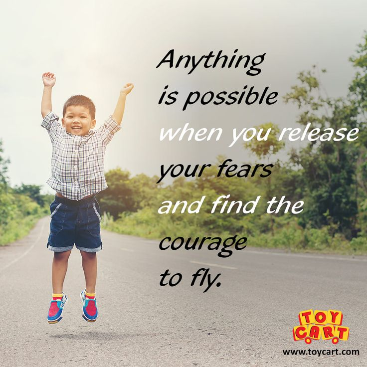 Monday Motivation! #nothingisimpossible #releasefears #havecourage #flyhigh #positivethoughts #quoteoftheday #motivationalthoughts #joysforall #toycart