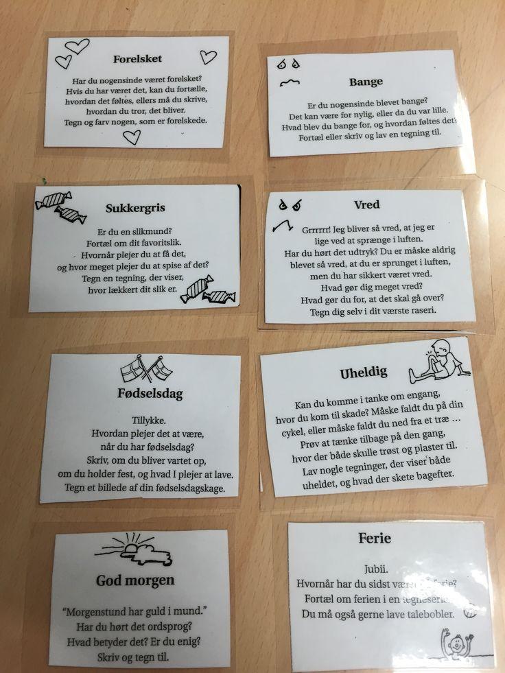 Ekstra opgave(dansk) 3.4.5. klasse