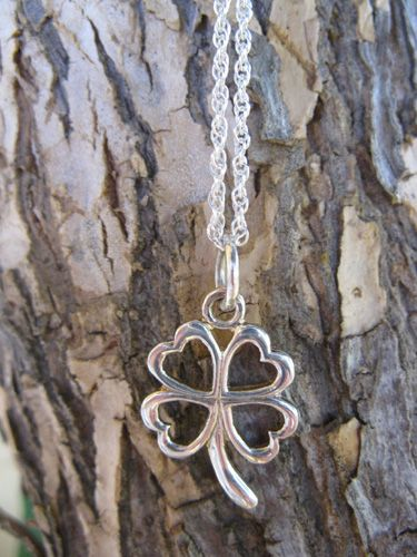 Lucky clover necklace for inspiration