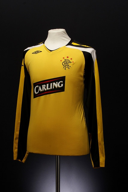 Glasgow Rangers Football Shirt (change, 2007-2008)
