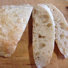 Recipe Easy Ciabatta Bread by ThermoMiss - Recipe of category Breads & rolls
