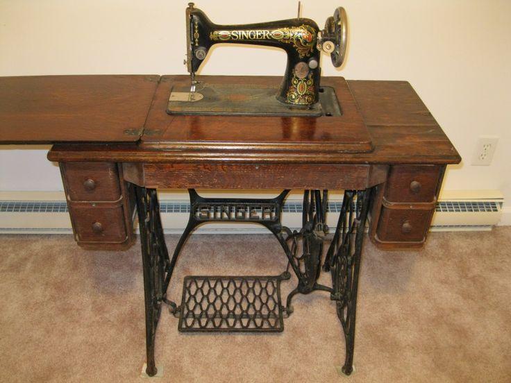 vintage treadle sewing machines | Antique Singer Treadle Sewing Machine – A  fine treasure and a - 100 Best Vintage Sewing Machines Images On Pinterest Treadle