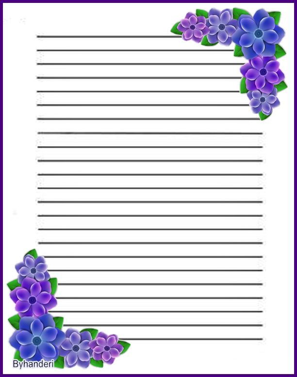 255 best Stationery images on Pinterest Free printables - free lined stationery