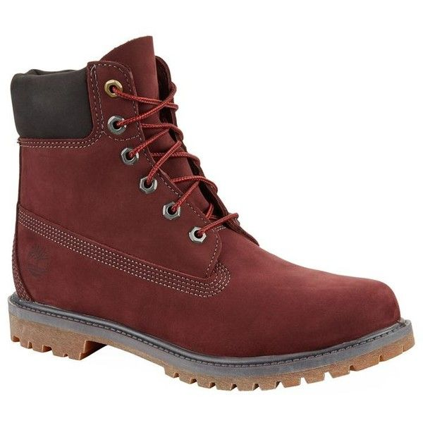 Timberland 6 Inch Premium Waterproof Boots (£170) ❤ liked on Polyvore featuring men's fashion, men's shoes, men's boots, men's work boots, mens water proof boots, mens waterproof boots, mens waterproof work boots, timberland mens work boots and timberland mens boots