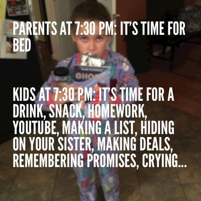 25 Memes That Sum Up How Hard Bedtime Is With Kids Funny Parenting Memes Child Sleep Problems Funny Baby Memes