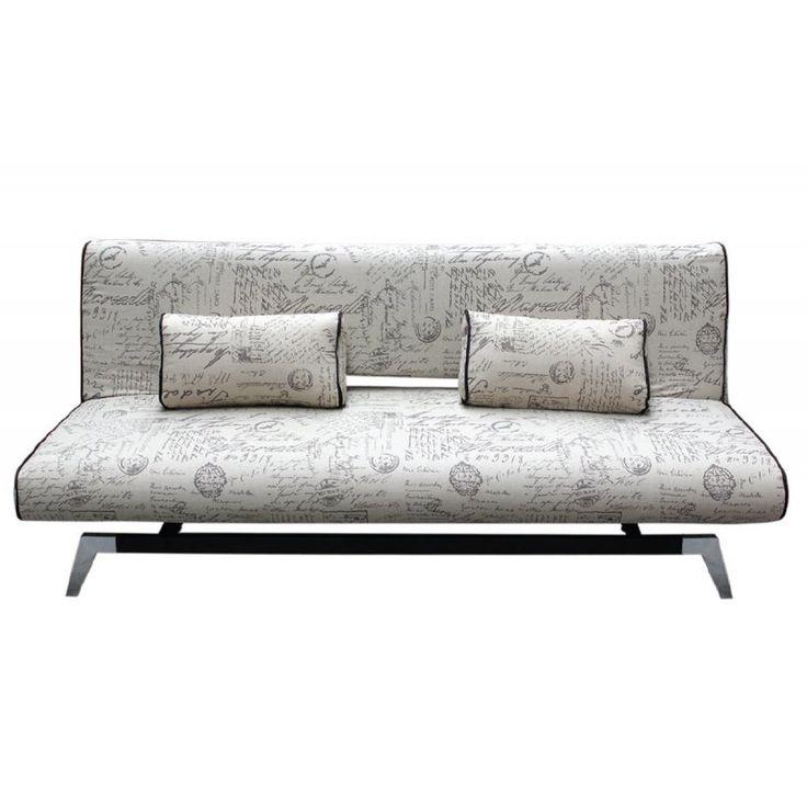 Καναπές-κρεβάτι Felix με ύφασμα deco 191x91x79